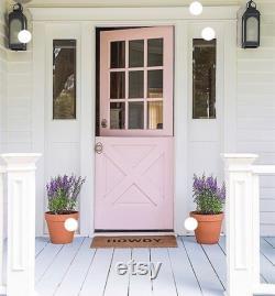 Vintage Reclaimed Dutch Door