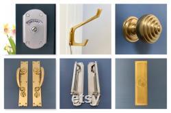 antique brass finish toilet bathroom vacant engaged lock indicator bolt lock vintage occupied washroom restroom lavatory fitting room