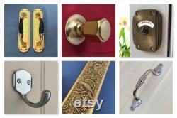 antique brass finish vacant engaged lock toilet bathroom indicator bolt lock vintage occupied washroom restroom lavatory fitting room decor