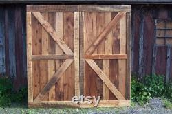 sliding barn door, reclaimed barn door, wood sliding door, antique barn door, sliding door hardware, double gate sliding, unique barn wood