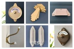 vintage style indicator bathroom toilet vacant engaged brass lock bolt door latch occupied washroom restroom lavatory fitting room changing